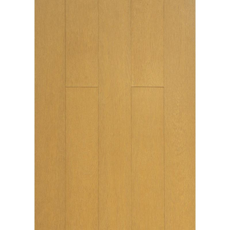 Parquet Massif Bambou Haute Pression - Façon Chêne Naturel - Compatible Pièces Humides - larg. 13 cm
