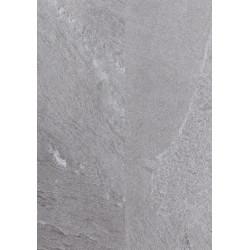 Dalle pvc clipsable avec sous couche intégrée - Ocean - coloris Ardoise- 30,3 x 60,6 cm
