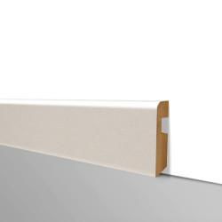 Plinthe pré peinte blanche - H.80 x L. 2230 mm