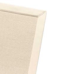 Tapis sur mesure Pavillon Stardust Design blanc cassé 16- Finition Gansé
