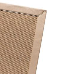 Tapis sur mesure Pavillon Stardust Design beige 26- Finition Gansé
