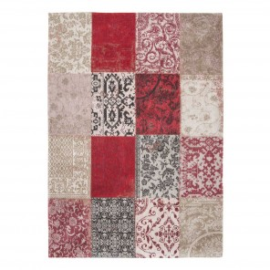 Tapis Patchwork Antwerp Red