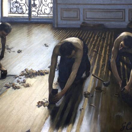 Les raboteurs de parquet - Gustave Caillebotte