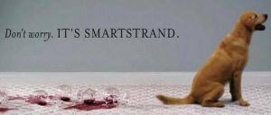 Pas d'inquiétude, c'est une moquette SmartsStrand