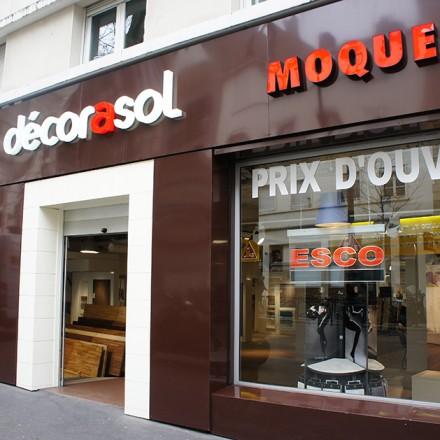 Boutique décorasol avenue simon bolivar Paris