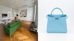 Michino inaugure son showroom parisien avec un parquet Décorasol